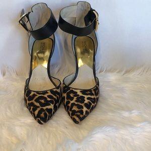Michael Kors Leather heels NWOB